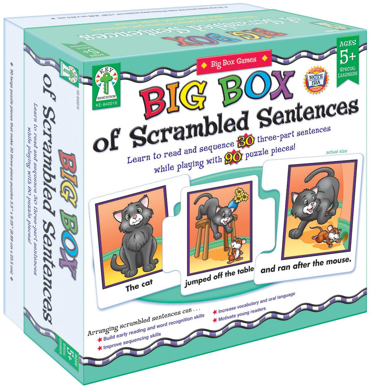 Big Box of Scrambled Sentences